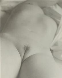 Artwork by Josef Breitenbach, NU (NUDE STUDY) 1950