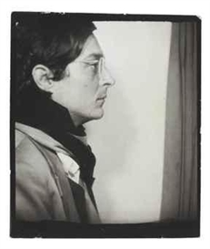 Artwork by William Eggleston, Photobooth Self Portrait, 1970s, Made of gelatin silver print