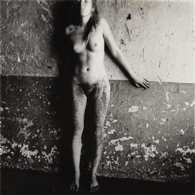 Artwork by Francesca Woodman, Untitled, Rome, 1977-1978, Made of Gelatin silver print