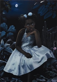 Artwork by Ruud van Empel, Moon #7, 2008, Made of Dye destruction print, Diasec mounted