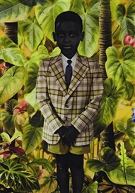 Artwork by Ruud van Empel, World #20, 2006, Made of Dye destruction print, Diasec mounted