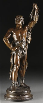 The Young Hercules By Eugène Marioton