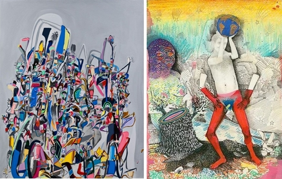 Orbital, 2012 by Ali Smith; Fancy Pants, 2011 by Christopher Davison