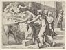 """Sisto Badalocchio, Giovanni Lanfranco, 21 Bll.: """"Historia del testamento vecchio"""". Die Geschichte des Alten Testaments"""