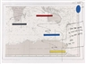 Lawrence Weiner, Island in a storm (4 sheets)