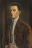 Willi Geiger, Porträt eines jungen Mannes