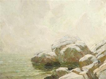Coastal Rocks By Frederick J. Mulhaupt