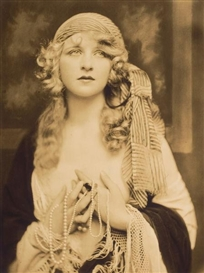 Artwork by Alfred Cheney Johnston, Myrna Darby, Made of Vintage gelatin silver