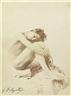 Gaetano D'agata, Junger Mann auf weißem Felsen