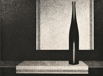 La Bouteille de vin d'Alsace By Mario Avati