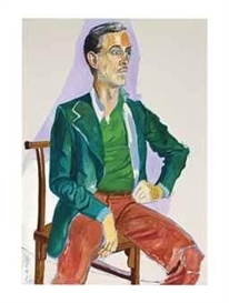 Artwork by Alice Neel, Portrait of Frederic Mueller, Made of oil on canvas