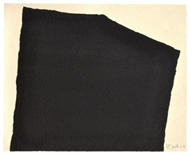 Artwork by Richard Serra, Hreppholar VIII, Made of Intaglio construction