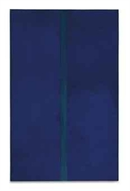 Artwork by Barnett Newman, Onement V, Made of oil on canvas