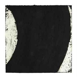 Artwork by Richard Serra, Flat Out, Made of paintstick on paper