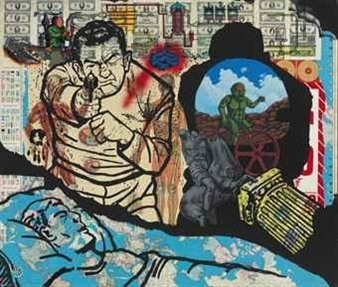 History Keeps Me Awake at Night By David Wojnarowicz ,1986