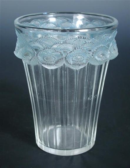 Lalique Ren A Ren Lalique Glass Vase Mutualart
