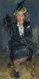 Paul Maas, The lady in black