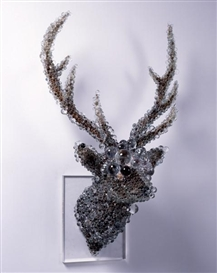 Artwork by Kohei Nawa, PixCell-Deer#10, Made of mixed media