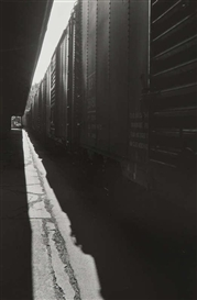 Artwork by Louis Stettner, Untitled (Station), Made of Gelatin silver print