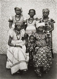 Artwork by Seydou Keïta, Untitled (Family), Made of Gelatin silver print