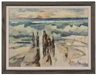 George Ayers Cress, Figures and Surf