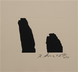 Artwork by Richard Serra, UNTITLED, Made of Lithograph