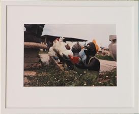 Artwork by William Eggleston, UNTITLED (SAMBO & WATERMELON), Made of Dye transfer-print