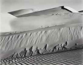 Artwork by Edward Weston, Dunes, Oceano, Made of Gelatin silver print