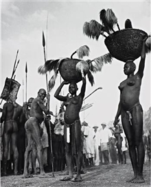Artwork by George Rodger, Korongo Nuba Women, Kordofan, Southern Sudan, Made of Gelatin silver print