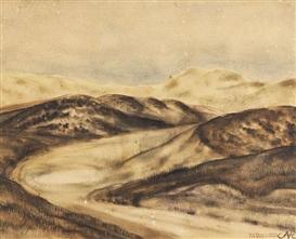 Artwork by Anita Ree, Die Oase in Kampen, Made of Watercolor