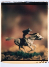 Artwork by David Levinthal, Untitled (from the series Wild West), Made of Polaroid Polacolor ER Land Film