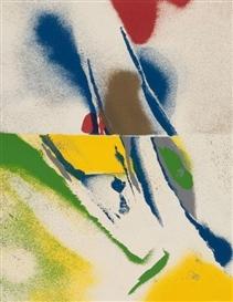 Artwork by John Chamberlain, Flashback Series, Made of Serigraphs
