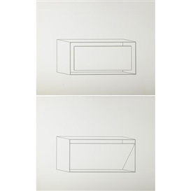 Artwork by Donald Judd, 16 works: Untitled, Made of etchings