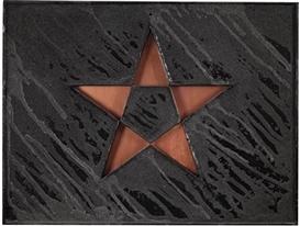 Artwork by Gilberto Zorio, Stella, Made of copper, sand
