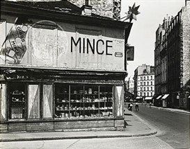 Artwork by Louis Stettner, Rue Bezout, Made of Gelatin silver print