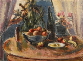 Artwork by Anton Faistauer, Still Life, Made of oil on canvas