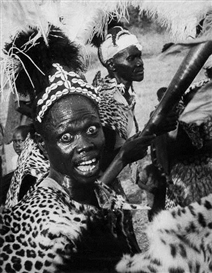 George Rodger, Madi Dancer, Moyo, Northern Uganda