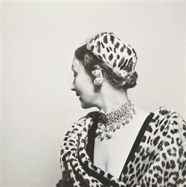 Artwork by Louise Dahl-Wolfe, Mizza Bricard, Made of Gelatin silver print