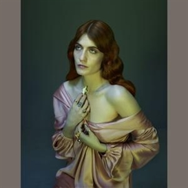 Artwork by Nadav Kander, Florence Welch I, Made of Archival pigment print
