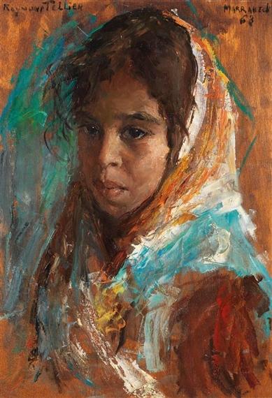 Raymond tellier khadija fillette du maroc for Du tellier meuble