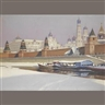 Mikhail Markianovich Germachev, The Kremlin under snow