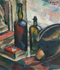 Ilmari Aalto, Still Life With Bottles