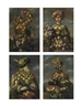 Giuseppe Arcimboldo, Four anthropomorphic figures: An allegory of the four seasons