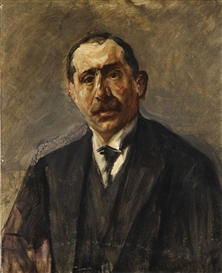Artwork by Max Liebermann, Porträt Julius Stern, Made of Oil on canvas