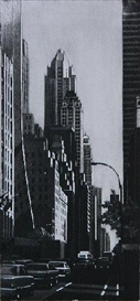 Artwork by Richard Haas, 57th Street Looking East, Made of etching
