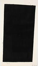 "Artwork by Richard Serra, ""Glenda Lough"", Made of Screenprint with hand-additions in paintstick on Arches"