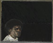 Artwork by Kurt Henning Trampedach Sørensen, Portrait, Made of Oil on canvas
