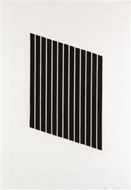 Artwork by Donald Judd, Untitled, Made of Aquatint on cream wove etching paper