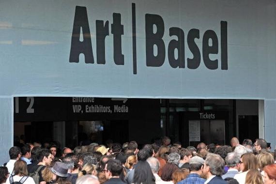 Art Basel Visitors