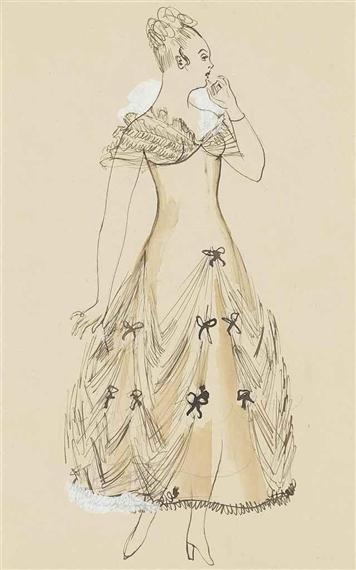 Dufy Raoul Modele De Robe Pour Paul Poiret 1917 Mutualart